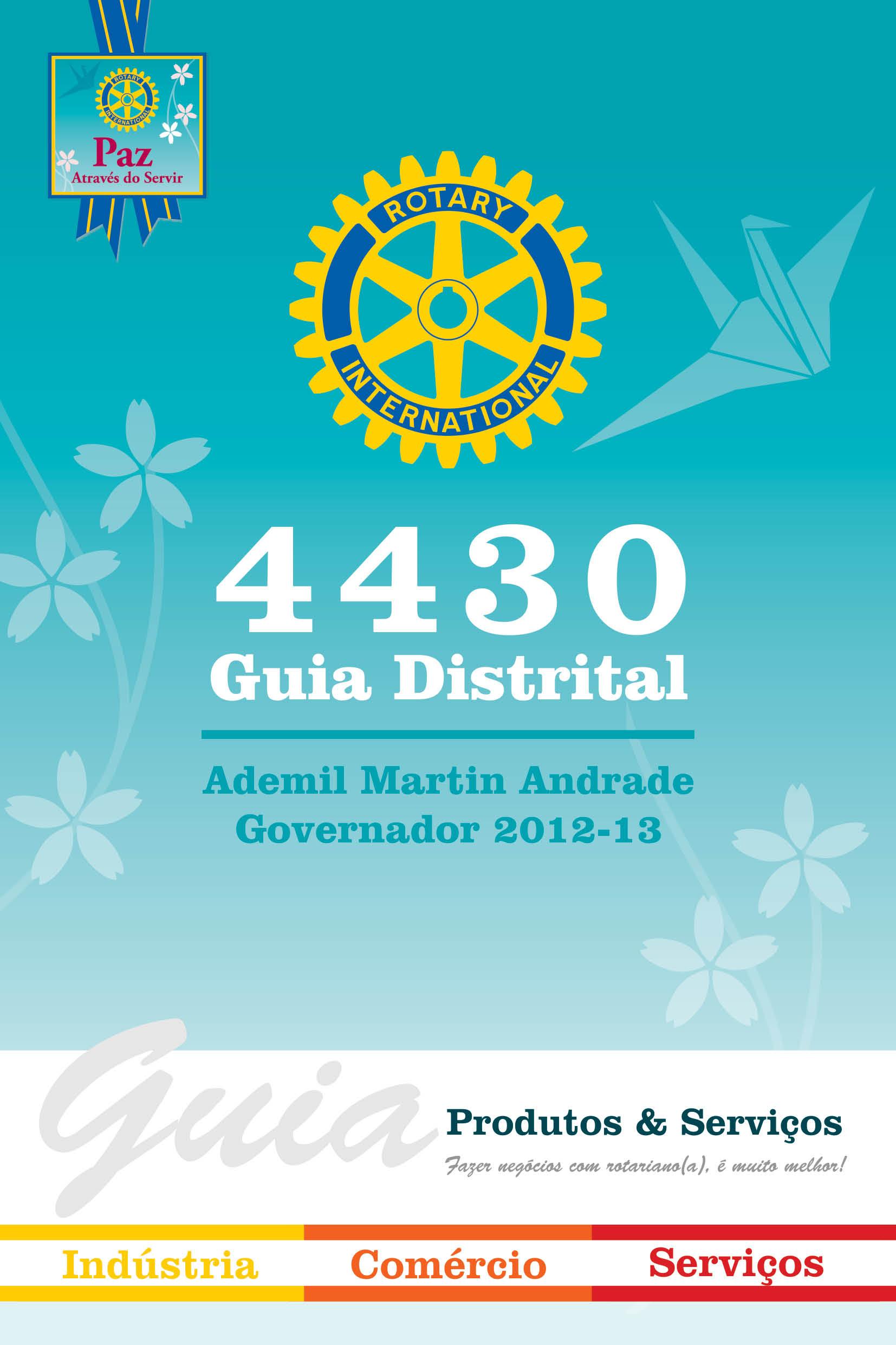 Guia do Rotary Distrito 4430, edição 2012-2013